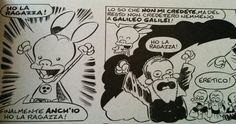 """RatMan:""""I have a girlfriend! I finally have a girlfriend too!""""  """"I know you don't believe me, but after all they didn't believe Galileo Galilei, either.""""  """"I have a girlfriend!""""  """"Heretic!""""  ...sorry, #RatMan makes me laugh so. Much."""