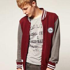 Men's Cotton Varsity Jacket http://www.collegefashionista.com/christinadun/fashionisto-spotlight-terrence-freeman/