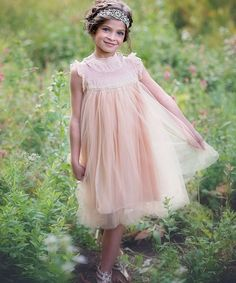 Hazelnut Adrianna Dress - Infant & Girls