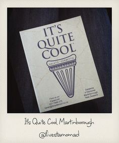It's Quite Cool Gelato & Sorbetto, Martinborough Eat Dessert First, Gelato, Cool Stuff, Ice Cream