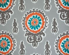 Premier Prints Michelle in Pacific Home Decor Outdoor fabric by the yard on Etsy, $13.00