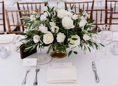 All-White Wedding Tips and Ideas — White Wedding Decor and Flowers Photos | InStyle.com