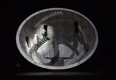 Alfons Flores – Scenography for Tristan and Isolde at Lyon Opera, France, 2011
