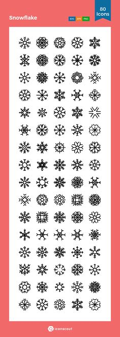 Snowflake Icon Pack - 80 Handdrawn Icons Snowflake Drawing Easy, Simple Snowflake, Christmas Doodles, Christmas Drawing, Bible Bullet Journaling, Snow Flake Tattoo, Hand Lettering Alphabet, Simple Doodles, Journal Stickers