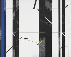 Nils Kölare (Swedish, 1930-2007), Svenskt landskap [Swedish landscape]. Acrylic on panel, 80 x 100 cm.