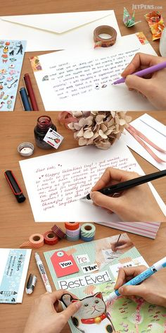 "The art of handwritten letters, colloquially referred to as ""snail mail"" due to its leisurely pace, is a delightful custom that was around long before phone calls, emails, or instant messages."