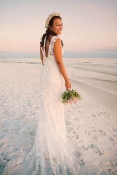 Perfect Beach Wedding Dress