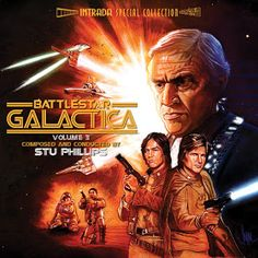 Battlestar Galactica - Original Soundtrack by Stu Philips 70s Tv Shows, Sci Fi Tv Shows, Sci Fi Series, Movies And Tv Shows, Tv Series, American Psycho 2, American Gods, 1984 Movie, Movie Tv