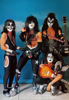 """anything-for-my-baby: """"Kiss in Amsterdam 1976 """" Rock Band Posters, Rock Poster, Kiss Images, Kiss Pictures, Paul Stanley, Best Rock Bands, Cool Bands, Kiss Rock, Los Kiss"""