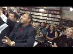 Cantor Agnaldo Timóteo e Acadêmico Clério José Borges na Festa do CONINT...