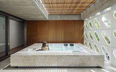 Gallery of Ventura House / Arquitetura Nacional - 30 Living Area, Living Spaces, Massage Room, Reinforced Concrete, Suites, Gated Community, Outdoor Rooms, Second Floor, Ground Floor