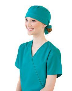 4005d1cc288 Unisex Scrub Cap back view showing back-tie up Healthcare Uniforms, Medical  Uniforms,