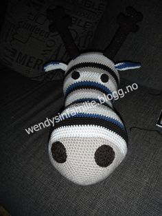 crochet moose how to link
