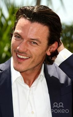 His smile kills me! Luke Evans