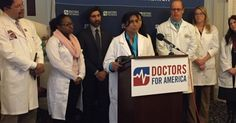 Members of Congress joined physicians from across the country Wednesday morning to demand an end to the Dickey Amendment, a 20-year-old law banning any federal research on gun violence.