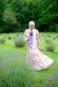 Needle and thread dress, haute hijab