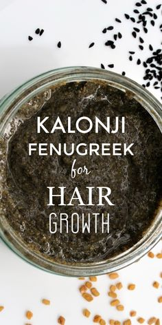 Kalonji and Fenugreek Seeds for Hair Growth Kalonji And Fenugreek Seeds For Hair Growth Fenugreek For Hair, Natural Shampoo And Conditioner, Reduce Hair Fall, Hair Mask For Growth, Hair Regrowth, Hair Straightening, Hair Remedies, Hair Oil, Grow Hair