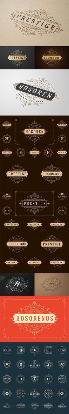700 Retro Vintage Logotypes and Badges - 4