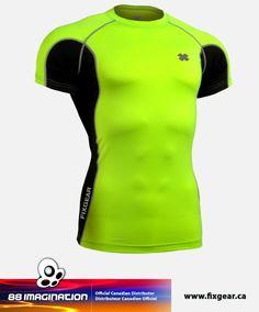 577de9c0c898 FIXGEAR FCTR-BGS Skin-tight Compression Base Layer Shirt Fitnes Pre Mužov