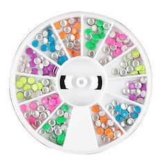 QINF 12 Color Mini Rivet Nail Art Decoration *** Be sure to check out this awesome product.