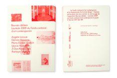 Neo Neo Graphic Design Switzerland - FCAC Bourses Déliées