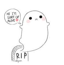 Find images and videos about cute, ghost and oblyvian on We Heart It - the app to get lost in what you love. Cute Ghost, Creepy Cute, Kawaii Art, Kawaii Anime, Oblyvian Girls, Ghost Comic, Ghost Drawing, Drawing Art, Ghost Tattoo