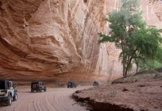 Now that's a Jeep trail in Arizona....this girl don't need no PinkJeepTour when she's got her OWN cherry red Wrangler!!