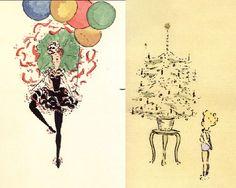 Audrey Hepburn's drawing! incredible