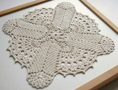 Ecru linen lace doily square handmade crochet doily by Edangra Crochet Stitches For Blankets, Thread Crochet, Crochet Blanket Patterns, Knit Or Crochet, Crochet Motif, Crochet Designs, Crochet Ripple Afghan, Crochet Squares, Lace Doilies