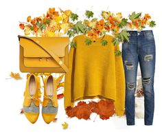 """Fall"" by suncokret-12 ❤ liked on Polyvore featuring Pieces, H&M and Marni"