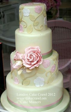 A Wedding cake? A Quinceañera Celebration cake? An Anniversary cake?  It is what you want.