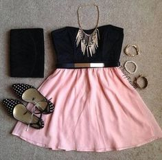 Cute Outfit on Picsity Teen fashion Cute Dress! Clothes Casual Outift for Cute Fashion, Look Fashion, Teen Fashion, Fashion Beauty, Fashion Outfits, Womens Fashion, Fashion Ideas, Cute Dresses, Casual Dresses