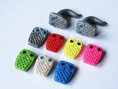 Owl Polymer Clay Gauges Stretchers Plugs for by LotusCoveDesign, $16.00