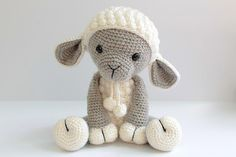 Looking for your next project? You're going to love Amigurumi Lamb-Sheep by designer Anat Tzach.