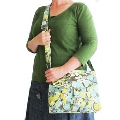 Image of Messenger Bag PDF Sewing Pattern