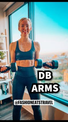 Fitness Workout For Women, Fitness Tips, Fitness Motivation, Fitness Plan, Fitness Logo, Health Fitness, Gym Workout Videos, At Home Workouts, Dumbbell Arm Workout