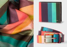 Paul Smith's 'Artiste Stripe' in his Men's Collection