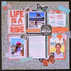 Kaisercraft - Dream Big - Adriana Bolzon Scrapbook Blog, Scrapbooking Layouts, Daylight Savings Time, June 3rd, Project Life, Happy Day, Dream Big, Dreaming Of You, Projects To Try