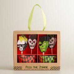 Zombie Punk Cupcake Set