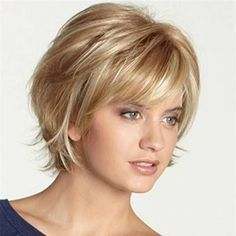 Real Human Hair Wig Short Side Bang Virgin Remy Mono Top Capless at Banggood