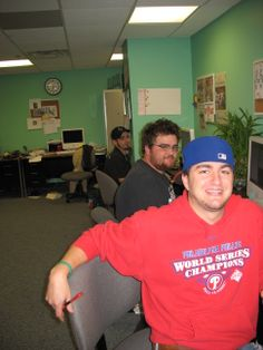 Chris Winkler (front) and Lawrence Foster, Fall 2009