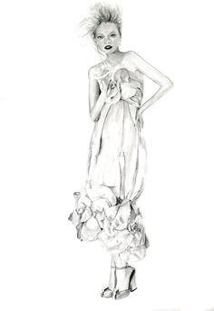Gemma Ward in Chanel