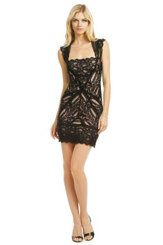 Pretty Woman Lace Dress: Nicole Miller