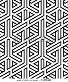 abstract seamless braided background vector illustration by svkv, via ShutterStock