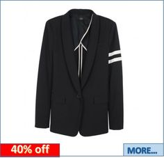 Get 40% off a Milo Cape Back Blazer by Tibi #fashion