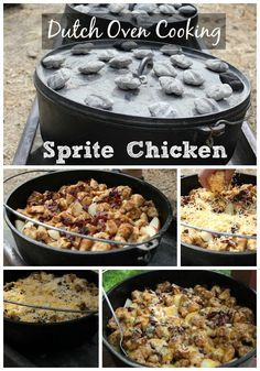 I love it when camping season rolls around and it is time for some good dutch oven cooking. There is nothing like the taste of campfire cooking. This is another fabuless campfire cooking recipe using dutch ovens from my friend Ryan. camping recipes, recipes for camping #camping #recipe