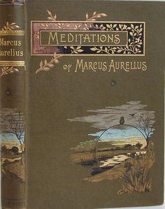 meditations of marcus aurelius, book cover