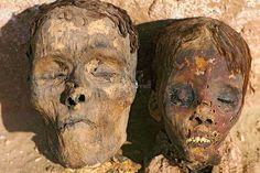 Egypt. Dakhla. Mummy