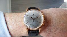 Zenith Elite Chronograph Classic oro rosa en la muñeca 4