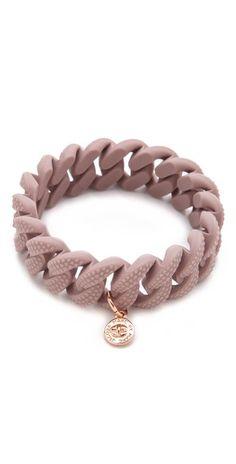 Marc Jacobs rubber bracelet